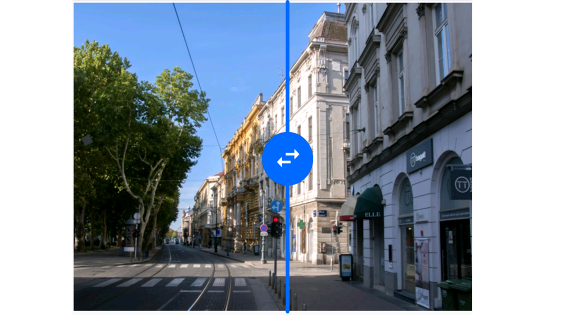 How we made a Before and after view in Greetings from Zagreb Android application