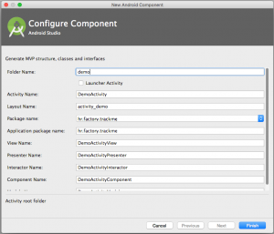 How to speed up development by using MVP templates for Android studio