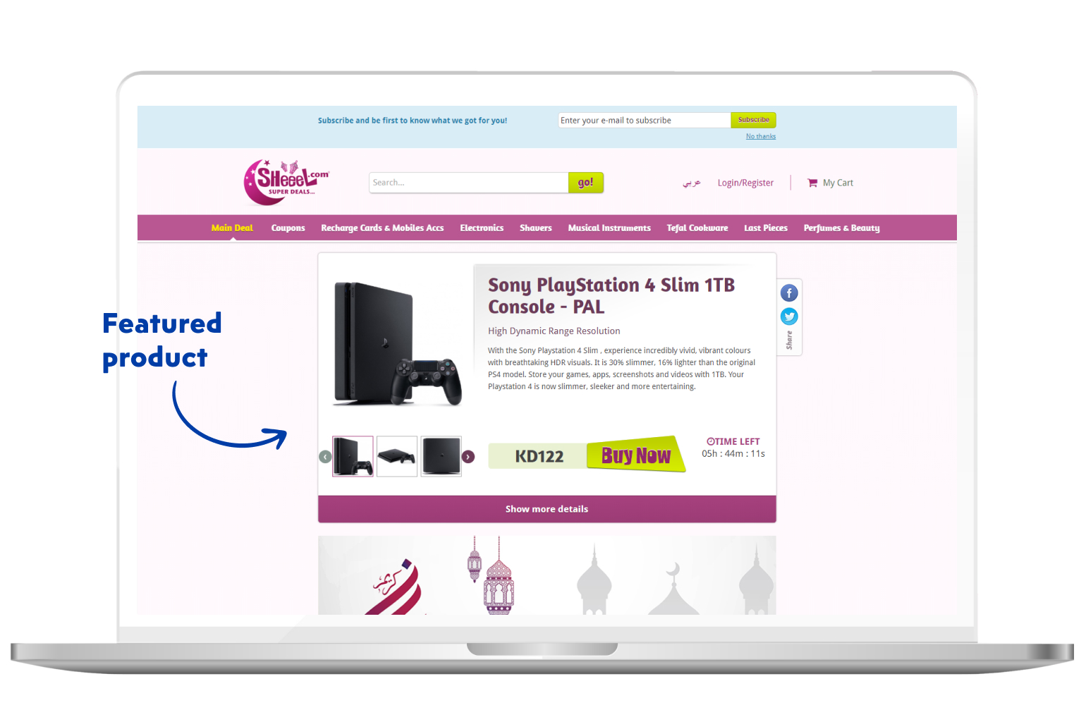 Ultimate list of eCommerce website features
