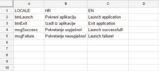 How to Export Key-Value column Pairs to JSON in Google applications
