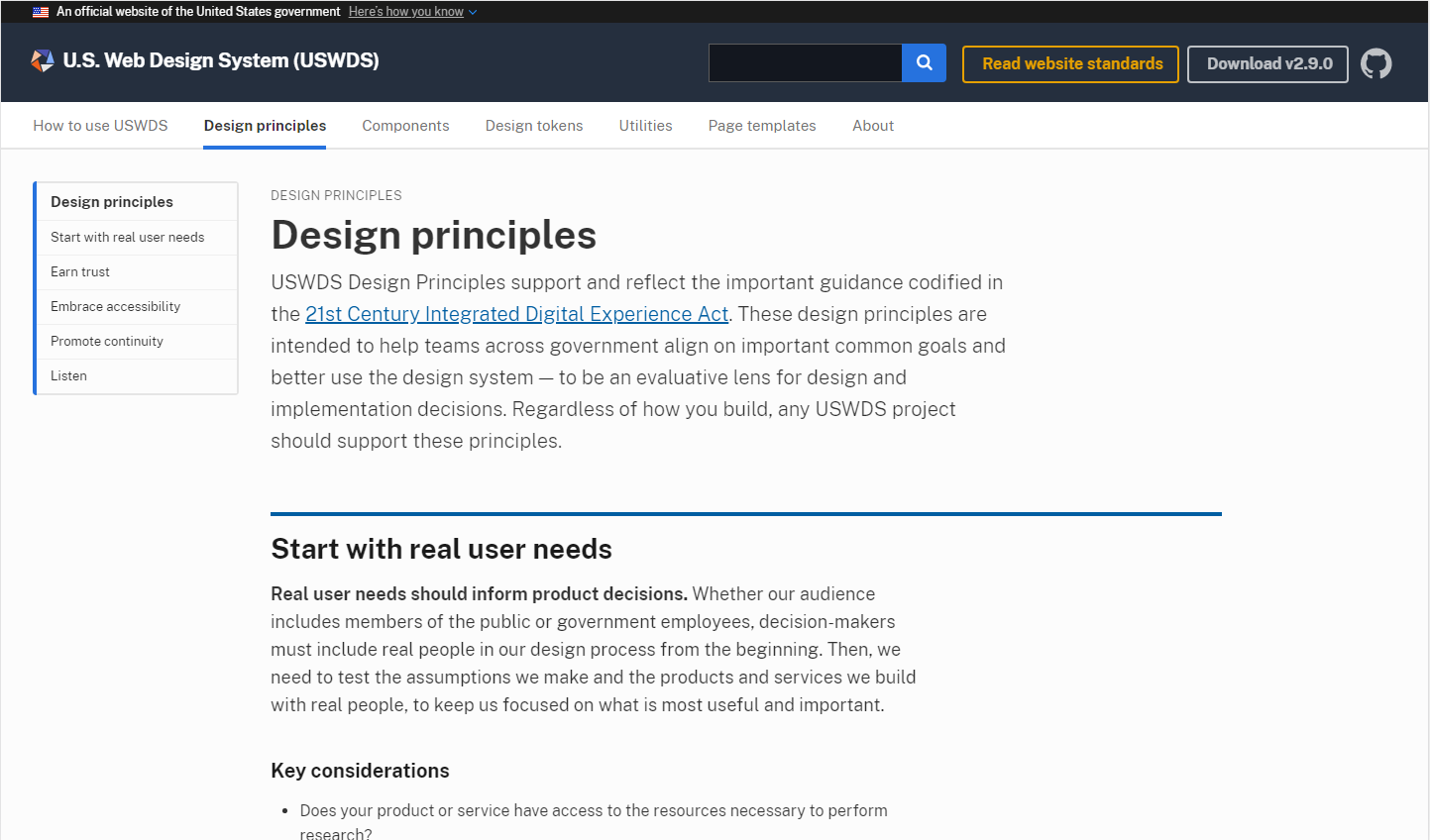 Design System Series: Principles as the heart of your design system
