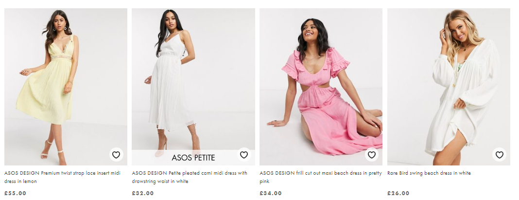 10 best features for eCommerce which make ASOS a successful webshop
