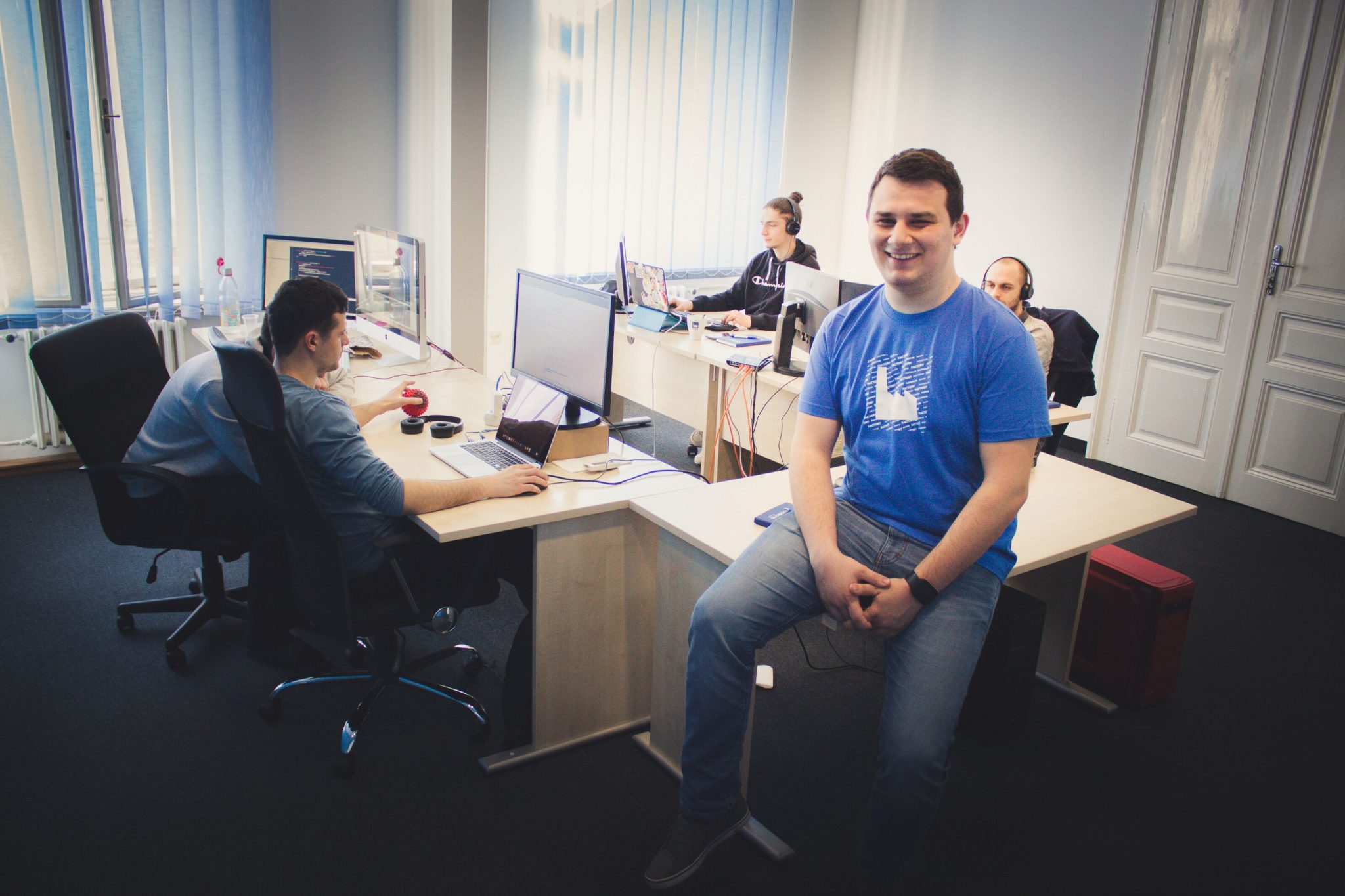 backend developer praksa
