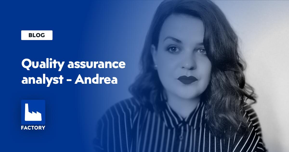 quality assurance analyst