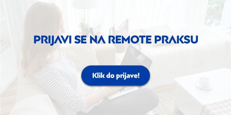 remote praksa development