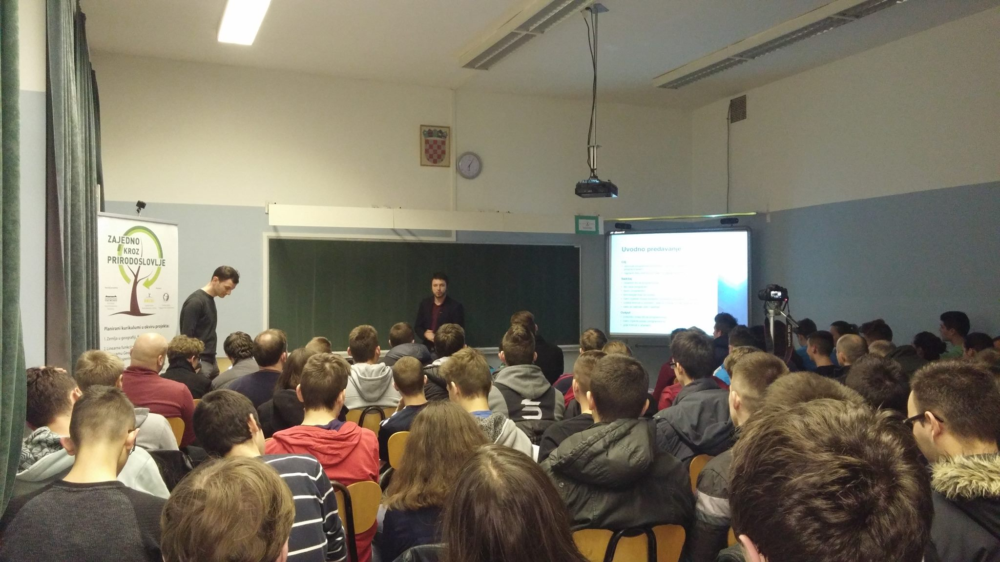 Factory lecture in 2015