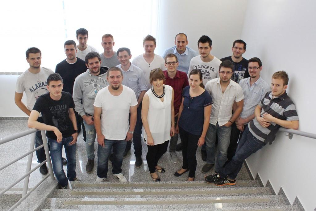 Factory team in 2015