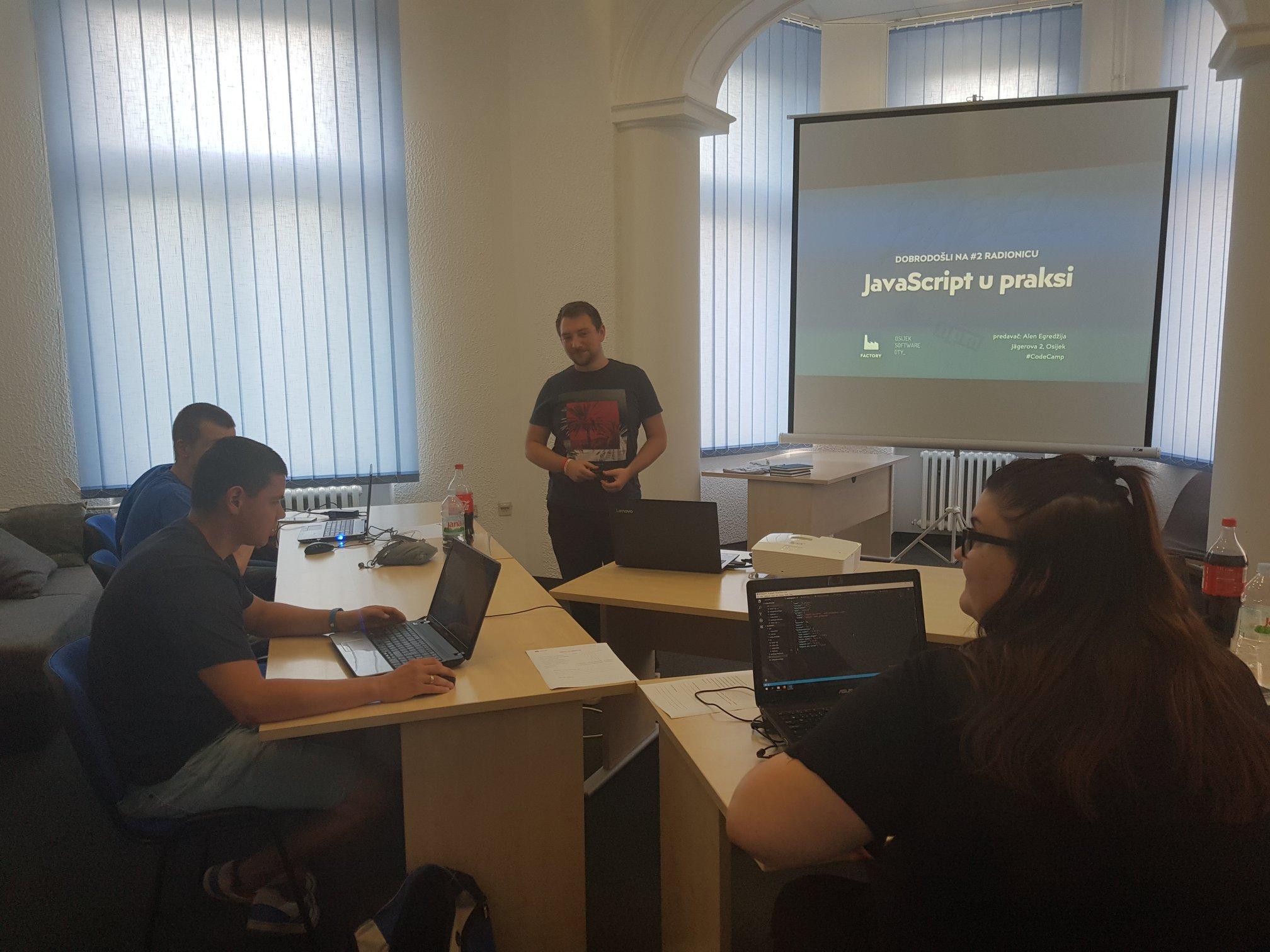 Javascript workshop in 2018