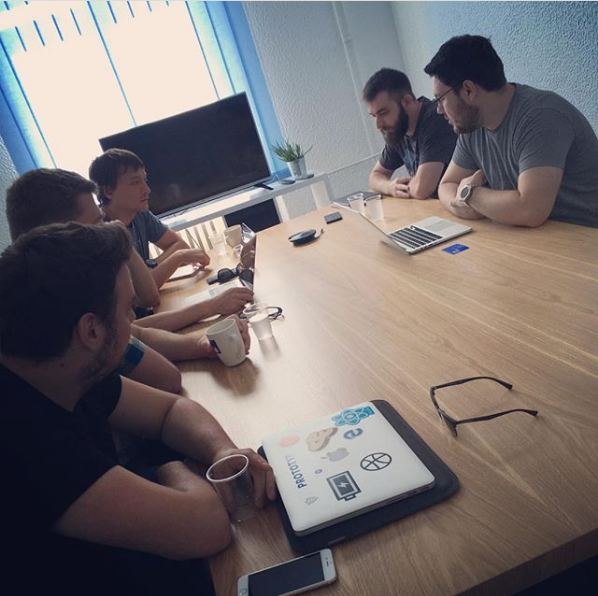 Office meetings in Factory