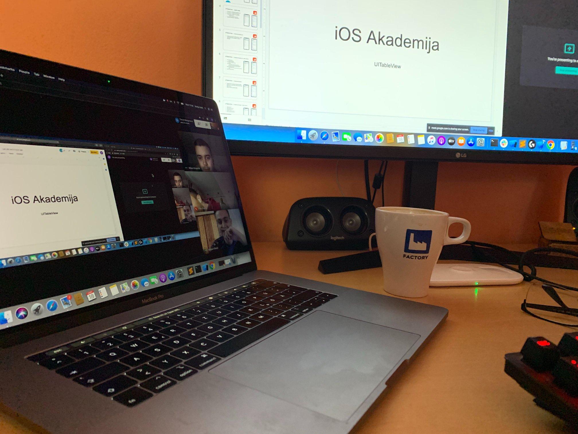 iOS academy remote 2020