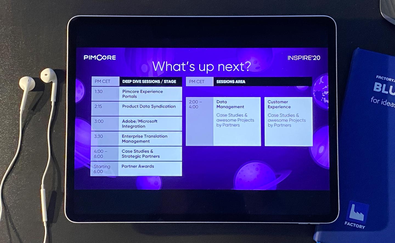 Pimcore Inspire virtual conference in 2020