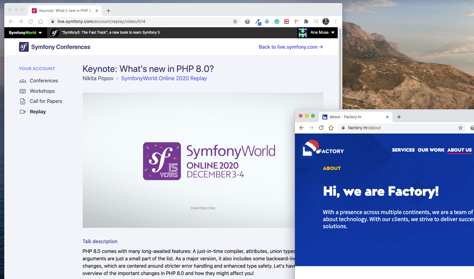 Iskustva - Symfony online konferencija 2020