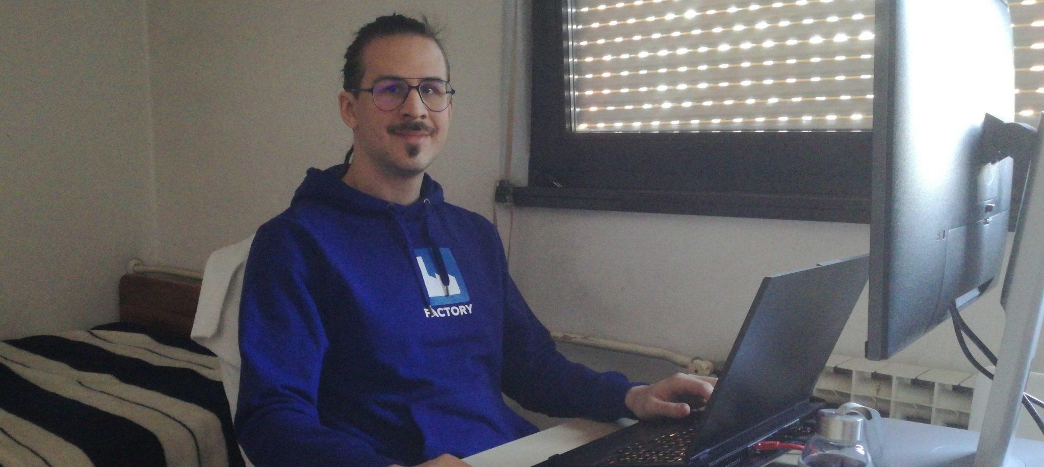 Od prakse do backend developera - Ivan