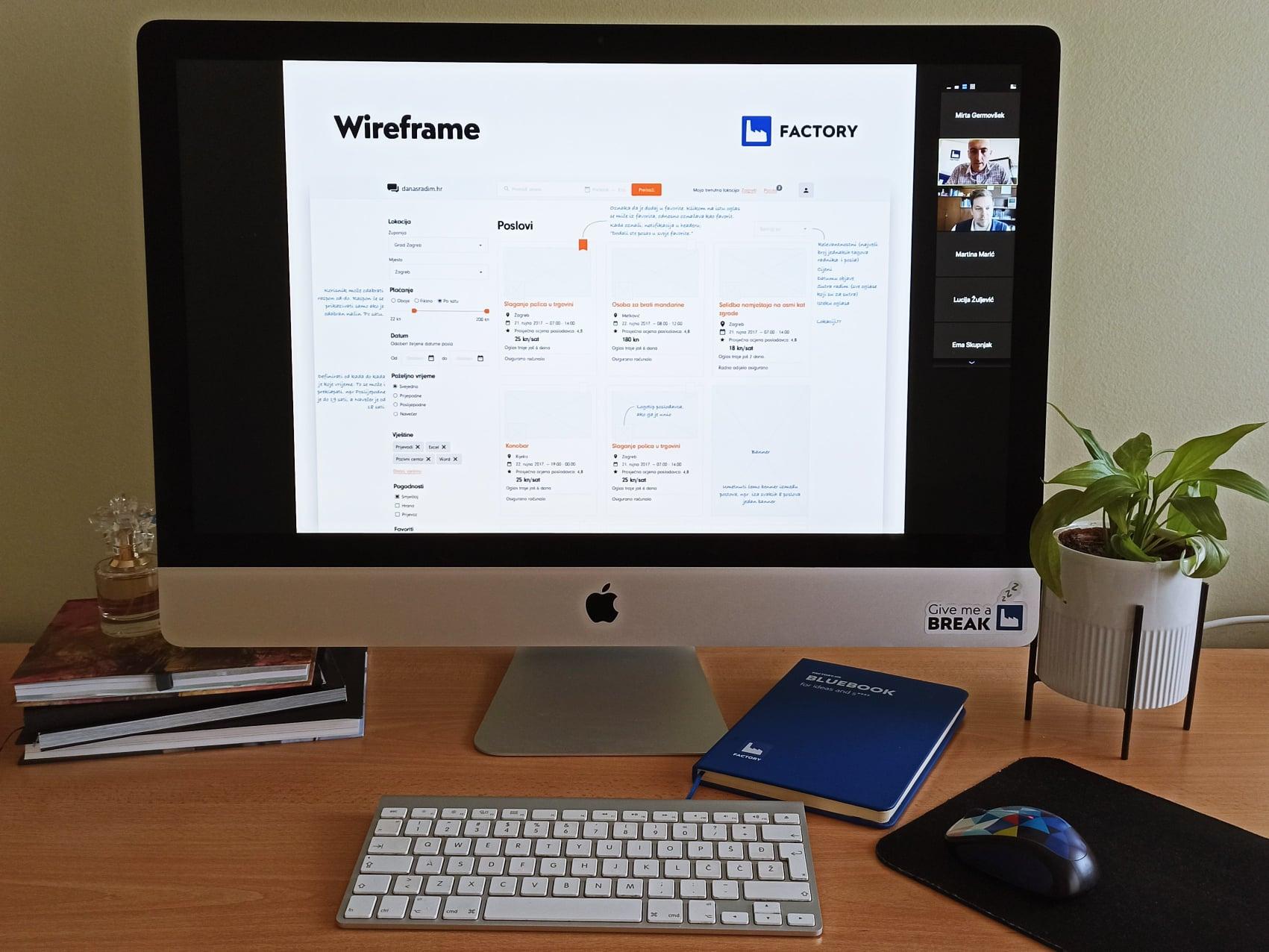 Online predavanje Factoryja o razvoju digitalnih proizvoda u suradnji s Ekonomskim fakultetom u Zagrebu
